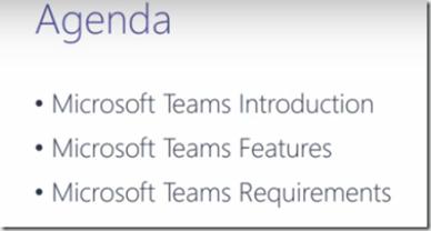 Introduction to Microsoft Teams Summary – Martin Boam's Microsoft UC