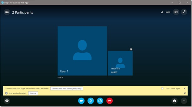 Enable Skype Meetings App to replace Skype for Business Web