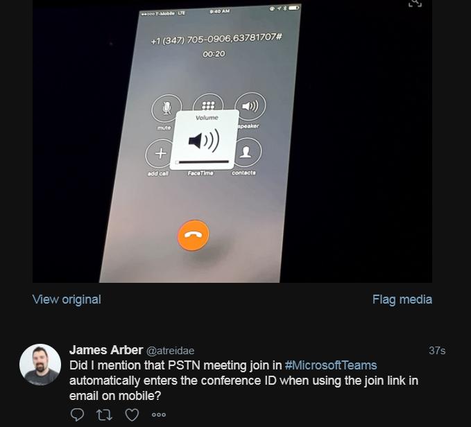 Understanding meetings in Microsoft Teams–Community Twitter