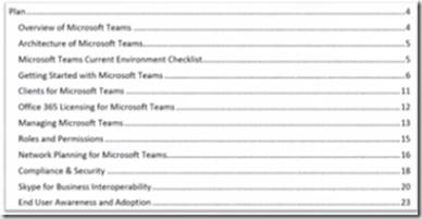 Plan, Deliver & Operate Microsoft Teams –Teams Academy