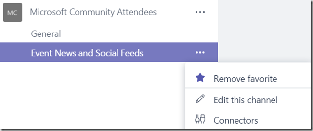 Microsoft Teams–Add Twitter Connectors to Channels – Martin