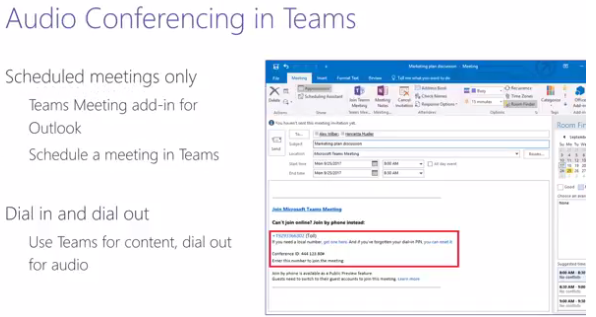 Teams: Introduction to Audio Conferencing Video Summary