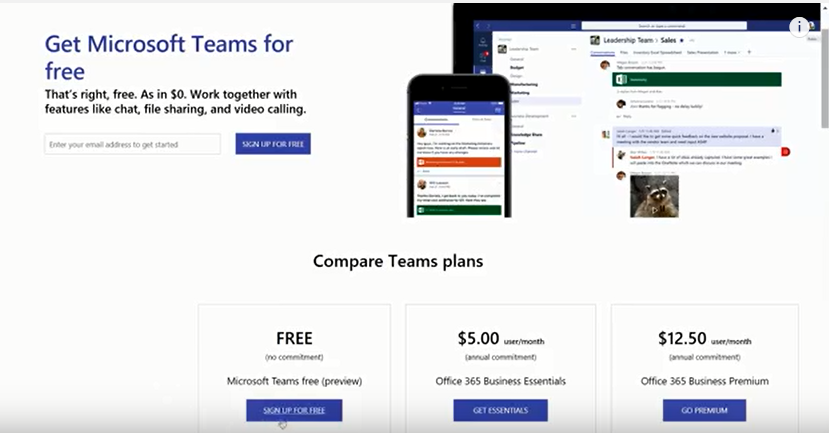 Get Microsoft Teams for free – Updates for Devs and IT – Microsoft